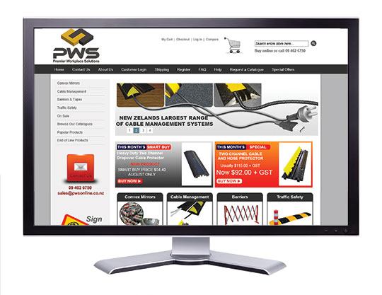Visit our online store at www.pwsonline.co.nz