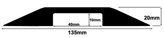 CP12 Dropover Cable Protector Specifications