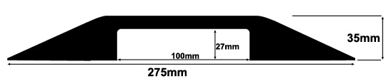 CP13 Dropover Cable Protector Specifications