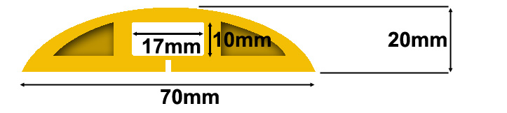 CP2Y Cable Protector Specifications