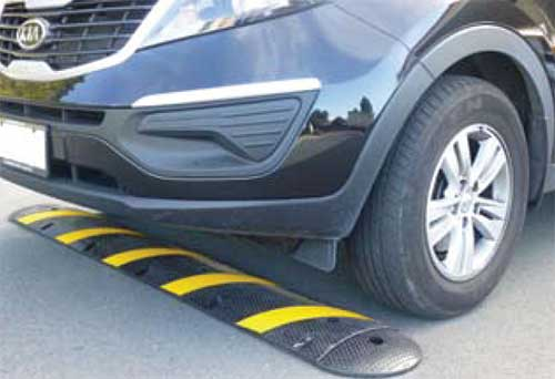 Speed Hump Cable Protector