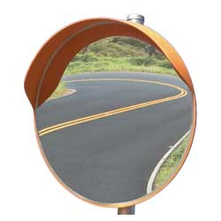 External Convex Safety Mirror