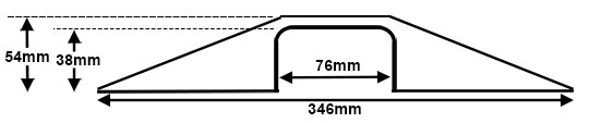 Large Sidewinder Cable Protector Diagram